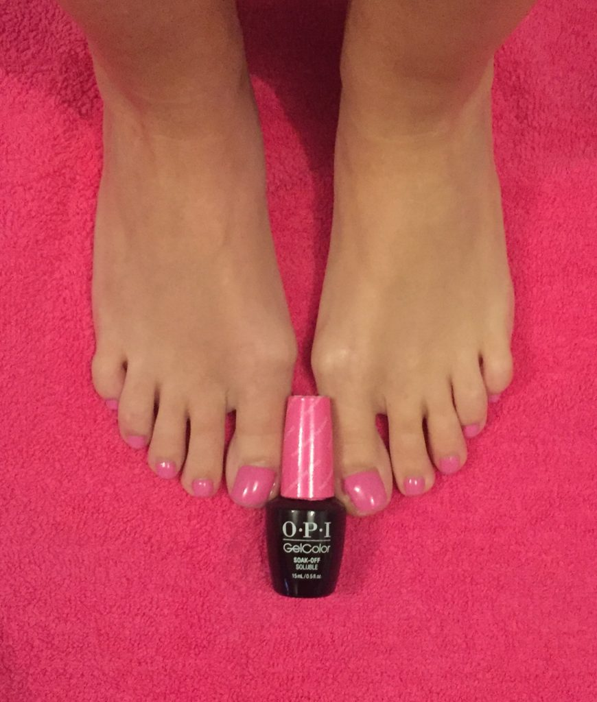 OPI Gel pedicure- Belle Angelique Beauty Epsom