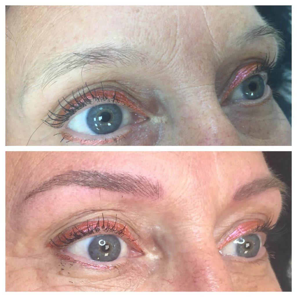 chloe spmu worcester eyebrows transformation
