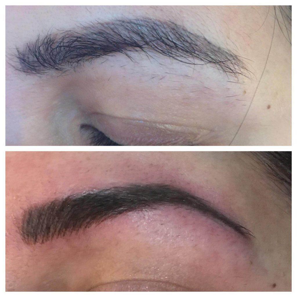 spmu worcester eyebrows transformation chloe